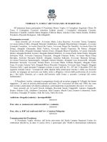 verbale n. 11 del 20 marzo 2014 - Ordine degli Avvocati di ROMA