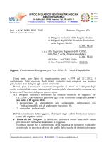 Prot. n. AOO.DIRSI.REG.13982 Palermo, 5 agosto