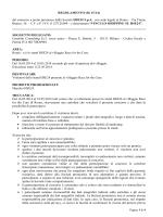 REGOLAMENTO (IG 67/14)
