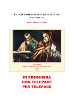 IN PREGHIERA CON TELEPACE PER TELEPACE
