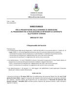 Bando (pdf 489 Kb) - Comune di Cuglieri