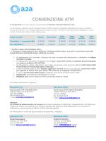 CONVENZIONE ATM