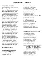 Canti pellegrinaggio - Diocesi di Vallo della Lucania