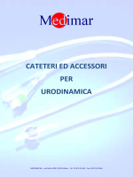 CATETERI ED ACCESSORI PER URODINAMICA