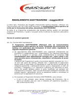 REGOLAMENTO EASYTRAINING - maggio2014