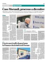 Caso Morandi, processo a dicembre