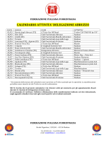 Calendario Eventi Delegazione Abruzzo