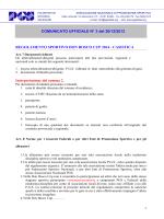 comunicato nazionale 3 -2014