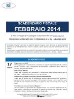 FEBBRAIO 2014 - Unione degli Industriali della Provincia di Venezia