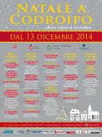 natale 2014 a codroipo - Proloco del Friuli Venezia Giulia