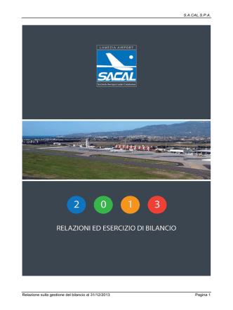 Bilancio-2013 - Lamezia Airport