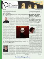 n. 15 Marzo 2014 - Diari di Cineclub