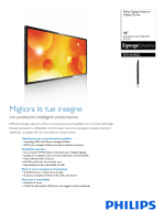 Philips Signage Solutions Display Q-Line BDL4620QL Full
