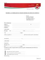 Il/La richiedente - Comune di Molfetta