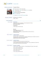 Claudia Olivieri - Università degli Studi di Catania