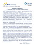 Comunicato del 15 luglio 2014 Il TAR annulla i concorsi ex