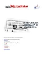 Rapporto EX REPUBBLICA JUGOSLAVA DI