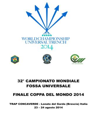 32° campionato mondiale fossa universale finale coppa