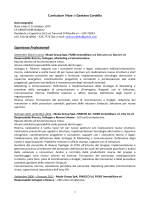 Curriculum Vitae Gaetano Cordella settembre 2014