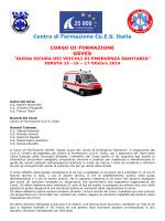 Centro di Formazione Co.E.S. Italia GSVES