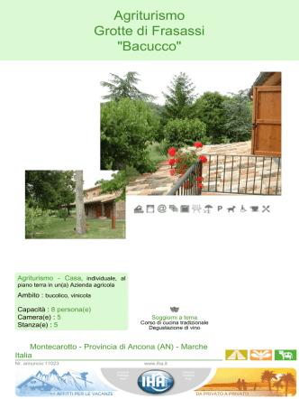 Agriturismo Grotte di Frasassi