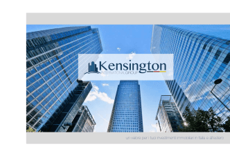 Company Profile - Kensington Group