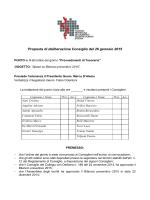 Proposta di deliberazione Consiglio del 15 dicembre 2014
