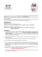 Regolamento e Programma