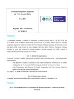 Proposta Federazione Bcc Fvg