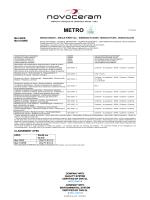 metro - Novoceram