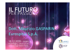 Dott. Maurizio GASPARIN Eurospital S.p.A.