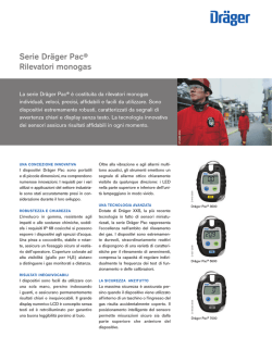 Product information: Dräger Pac Series (PDF)