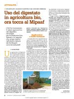 Uso del digestato in agricoltura bio, ora tocca al Mipaaf