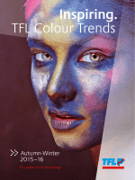Inspiring. TFL Colour Trends