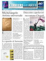 Artisti . Corriere dell arte