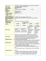 talijanski jezik 3 - Sveučilište u Zadru