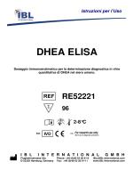 DHEA ELISA - IBL international