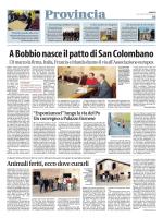 A Bobbio nasce il patto di San Colombano
