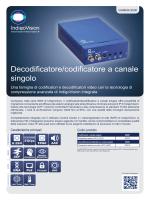 Decodificatore/codificatore a canale singolo (PDF file)