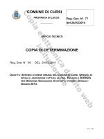 N. 77 del 24/03/2014, SETTORE TECNICO