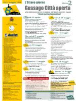 Manifesto ottavo giorno - Fondazione Bresciana Assistenza