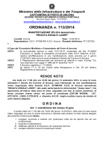 Ordinanza 113-2014 - REGATA ZONALE LASER