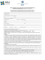 Page 1 Piano Terapeutico per la prescrizione di Incretine/inibitori