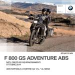 Prezzi e equipaggiamenti F 800 GS Adventure ABS