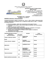 Classe 5^ sez. A - elettronica e telecomunicazioni