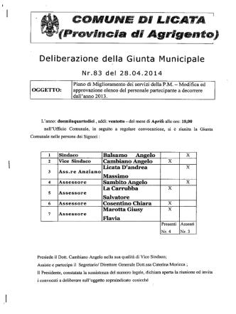 COMUNE DI LICATA (Provincia di Agrigento)