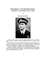 ricordo di un grande asso: franco lucchini(1917 – 1943)