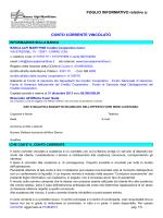 FOGLIO INFORMATIVO - Banca Alpi Marittime