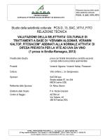 Verifica della fitossicita di Veramin Algomar, Veramin KALTOP e
