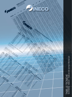 tabelle tecniche technical tables - tablas de da tos técnicos